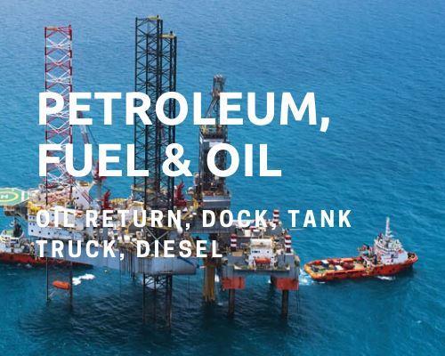 Petroleum oil hose